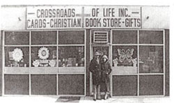 Crossroads of Life Bookstore, 1976